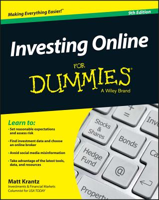 Investing Online for Dummies - Krantz, Matt