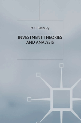 Investment: Theories and Analyses - Baddeley, Michelle