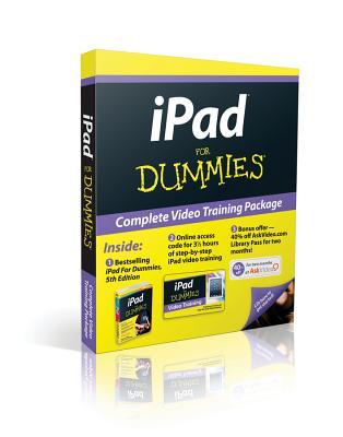 iPad for Dummies, 5th Edition, Book + Online Video Training Bundle - Baig, Edward C, and LeVitus, Bob