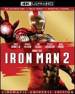 Iron Man 2 [Includes Digital Copy] [4K Ultra HD Blu-ray/Blu-ray]