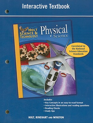 Holt Science & Technology Physical Science Interactive Textbook - Holt Rinehart & Winston (Creator)
