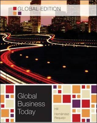 Global Business Today - Hill, Charles W L