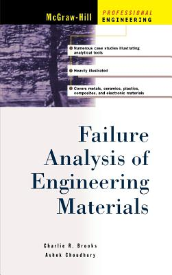 Failure Analysis of Engineering Materials - Brooks, Charlie R, and Choudhury, Ashok, and Brooks Charles