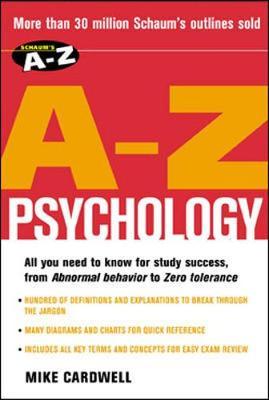 Schaum's A-Z Psychology - Cardwell, Mike