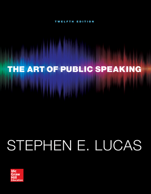 the art of public speaking Available in: paperback the art of public speaking personalizes learning for every student no matter who they are or where they are, ensuring that they.