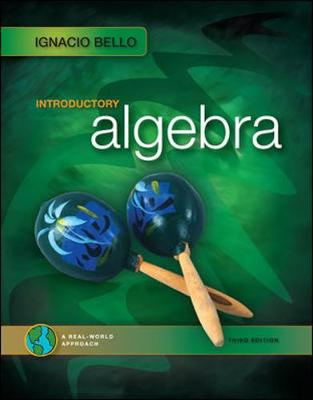 Introductory Algebra - Bello, Ignacio, and Bello Ignacio