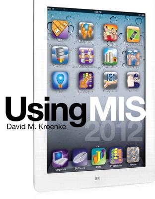 Using MIS - Kroenke, David M.