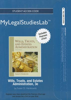 Wills, Trusts, and Estates Administration - Herskowitz, Suzan D