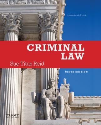 Criminal Law - Reid, Sue Titus