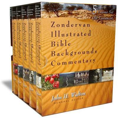 Zondervan Illustrated Bible Backgrounds Commentary: Old Testament Set - Walton, John H, Dr., Ph.D. (Editor)