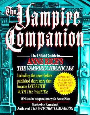 The Vampire Companion - Ramsland, Katherine M