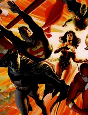 Mythology: The DC Comics Art of Alex Ross - Ross, Alex, and Spear, Geoff (Photographer), and Kidd, Chip (Text by)