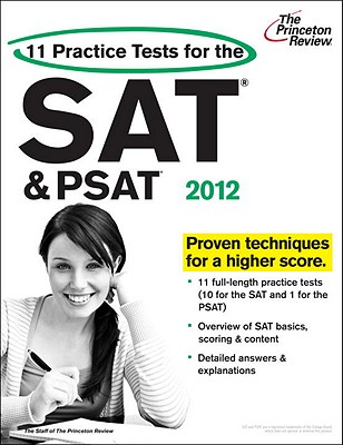 11 Practice Tests for the SAT & PSAT - Princeton Review (Creator)