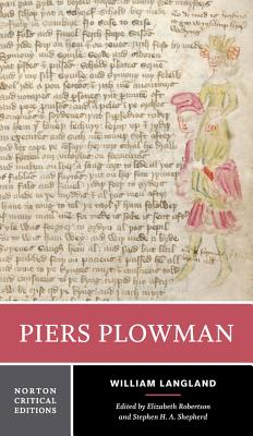 Piers Plowman - Langland, William, and Salter, Elizabeth (Editor), and Shepherd, Stephen H a (Editor)