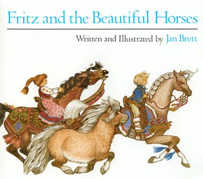 Fritz and the Beautiful Horses - Brett, Jan