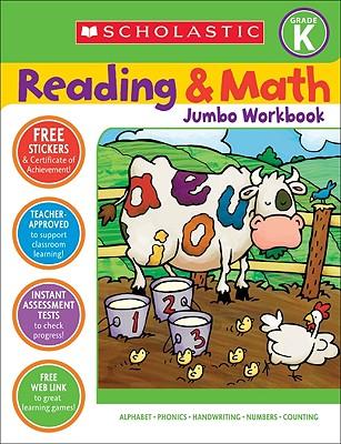Reading & Math Jumbo Workbook: Grade K - Cooper, Terry (Editor)