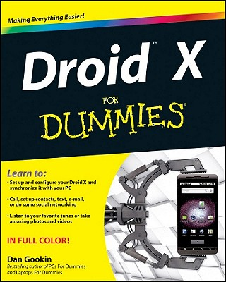 Droid X for Dummies - Gookin, Dan