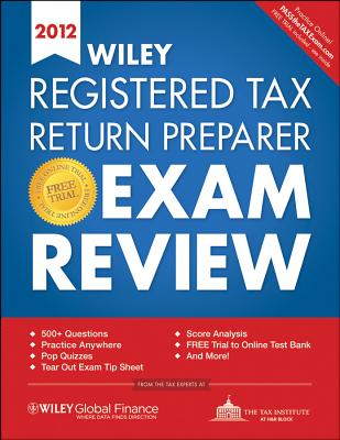 Wiley Registered Tax Return Preparer Exam Review - The Tax Institute at H&r Block