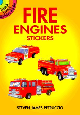 Fire Engines Stickers - Petruccio, Steven James, and Stickers