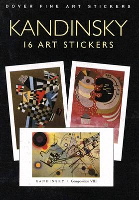 Kandinsky: 16 Art Stickers - Kandinsky, Wassily