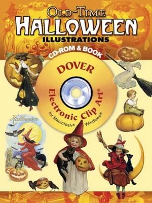Old-Time Halloween Illustrations - Grafton, Carol Belanger