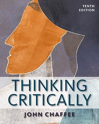 Thinking Critically - Chaffee, John, PH.D.