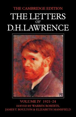 The Letters of D. H. Lawrence - Lawrence, D H, and Mansfield, Elizabeth, and Boulton, James T (Editor)