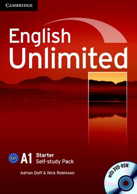 English Unlimited A1 Starter Self-Study Pack - Doff, Adrian, and Robinson, Nick