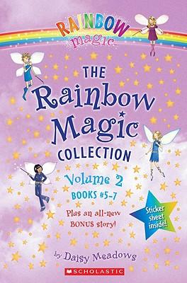 The Rainbow Magic Collection, Volume 2: Books #5-7: Sky the Blue Fairy; Inky the Indigo Fairy; Heather the Violet Fairy; Hannah the Happily Ever After Fairy - Meadows, Daisy, and Ripper, Georgie (Illustrator)