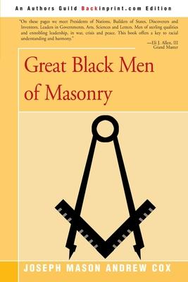 Great Black Men of Masonry - Cox, Joseph