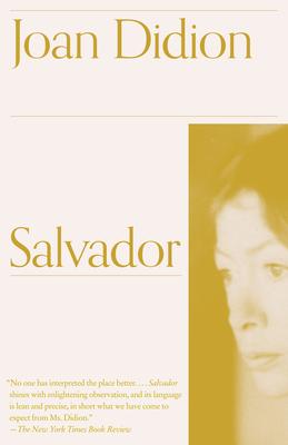 Salvador - Didion, Joan