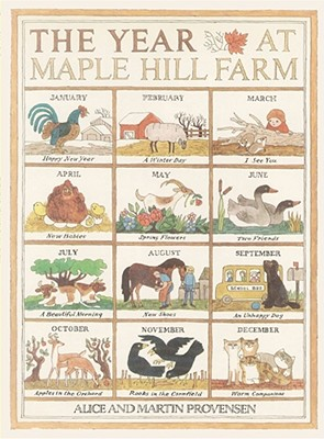 The Year at Maple Hill Farm - Provensen, Alice, and Provensen, Martin