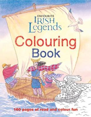 Irish Legends for Children Colouring Book - Carroll, Yvonne