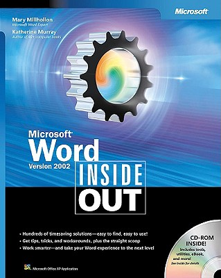 Microsoft Word Version 2002 Inside Out - Millhollon, Mary, and Murray, Katherine, and Microsoft Corporation