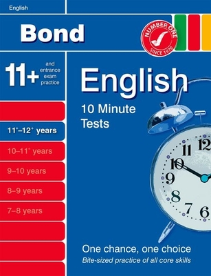 Bond 10 Minute Tests English 11-12+ Years - Lindsay, Sarah
