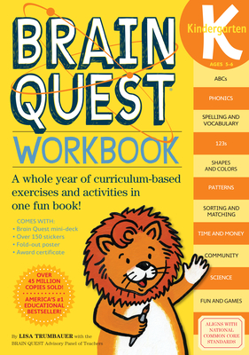 Brain Quest Kindergarten Workbook - Trumbauer, Lisa, and Oliver, Kimberly (Editor)