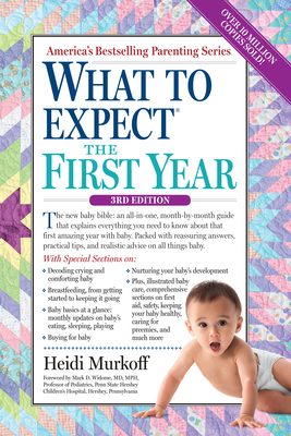 What to Expect the First Year - Murkoff, Heidi, and Mazel, Sharon, and Widome, Mark D (Foreword by)