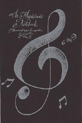 Musician's Notebook: Manuscript Paper for Inspiration and Composition - Running Press, and Teacher, Matthew
