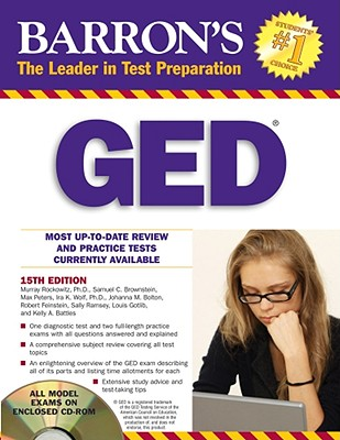 Barron's GED - Rockowitz, Murray, PhD, and Brownstein, Samuel C, and Peters, Max