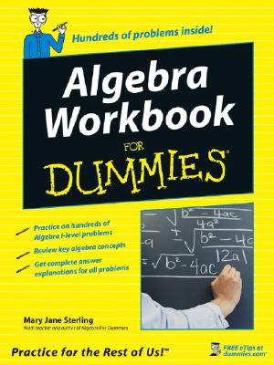 Algebra Workbook for Dummies - Sterling, Mary Jane