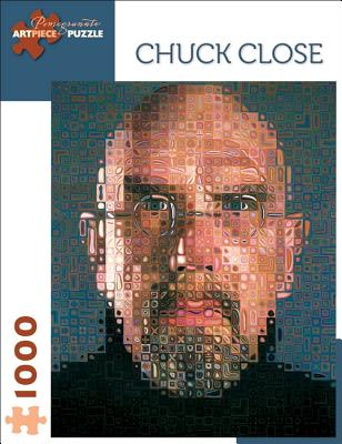 Chuck Close 1000 Piece Jigsaw Puzzle -