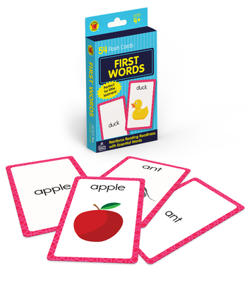 First Words Flash Cards (Brighter Child Flash Cards) - School Specialty Publishing (Cor)