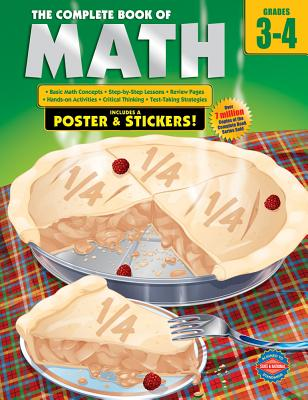 The Complete Book of Math, Grades 3-4 - School Specialty Publishing (Creator)
