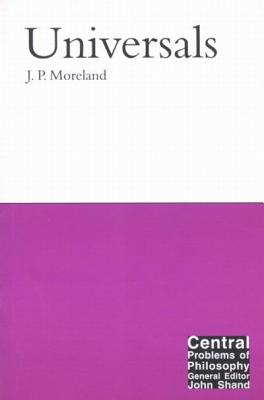 Universals - Moreland, J P