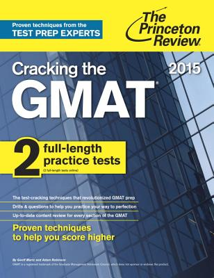 Cracking the GMAT - Martz, Geoff, and Robinson, Adam