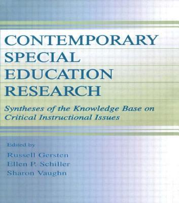 Contemporary Special Education PR - Gersten, Russell M (Editor), and Schiller, Ellen P (Editor), and Vaughn, Sharon (Editor)