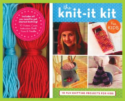 The Knit-It Kit for Kids: 10 Fun Beginning Knitting Projects - Traig, Jennifer, and Chronicle Books, and Alpert, Caren (Photographer)