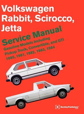 Volkswagen Rabbit, Scirocco, Jetta Service Manual: 1980-1984 - Bentley Publishers