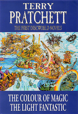 The First Discworld Novels: The Colour of Magic and the Light Fantastic - Pratchett, Terry