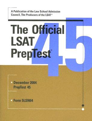 The Official LSAT Preptest 45 - Margolis, Wendy